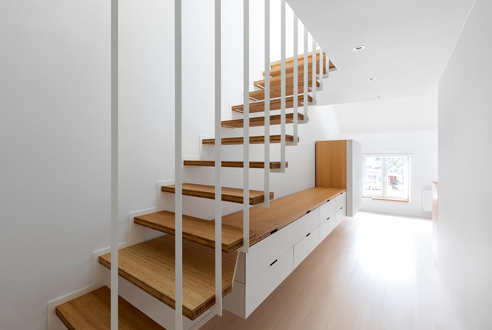 Escalier Dans La Maison l'escalier : un atout décoratif dans la maison